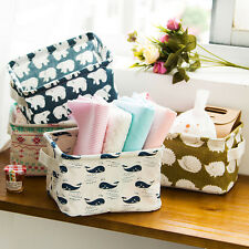 Colorful Foldable Storage Bin Closet Toy Storage Box Container Organizer Basket