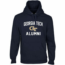 Georgia Tech Yellow Jackets Alumni Pullover Hoodie - Navy Blue - College
