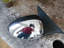 MK2 Rover 75/MG ZT Drivers off right Side Wing door Mirror Skullcap chrome