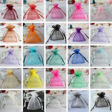 10cm  x 15cm Wedding Favor Candy Bags Gift Bags Strong Organza Pouch  20 Colors