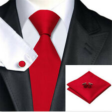 100% Jacquard Woven Silk Fashion Solid Plain Classic Necktie Necktie Men Tie Set