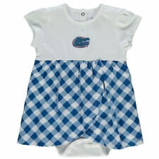 Florida Gators Infant Miranda Gingham Print Dress - Royal - NCAA