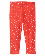 NWT Gymboree Girls Valentines Red Mini Heart Leggings Size 18-24 M 2T 3T 4T & 5T