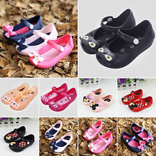 Summer Baby Kids Children Sandals Jelly Shoes Girls New Toddler UK Size 4.5-7.5