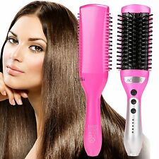 Fashion 50W Electric Hair Straightener Comb Heating Detangling Hair Brush TXWD