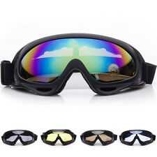 Motocross Off-road ATV Dirt Bike Motorcycle Goggles Eyewear Clearly Single Lens