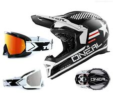 Oneal Fury Afterburner Downhill Helmet black white DH Mountain bike with TWO-X