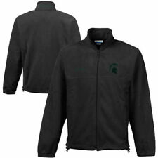 Michigan State Spartans Columbia Flanker II Jacket - Charcoal - College