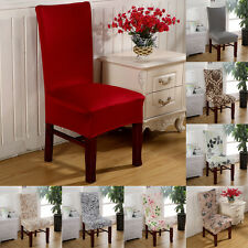 Home Super Fit Stretch Short Dining Room Chairs Cover Slipcover Seat Protector