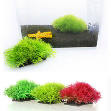 Water Grass Plastic Water Plant for Aquarium Fish Tank Ornament Decoration