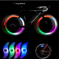 Cycling Bicycle Bike Wheel Spoke Tire Wire Tyre Bright LED Light Flash Lamp New