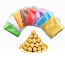 100x Candy Foils Bon-Bons Chocolates Favors Lollies Wrappers Sweets Lollies FYU