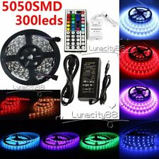 LED Strip 5050 SMD Flexible LED Lights 5M 300leds Lamp For Home Boats Decorative