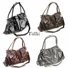 Fashion New Lady Korean Style Synthetic Leather Handbag Shoulder Bag Good TXWD