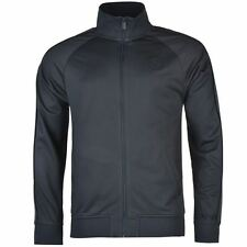 Firetrap Mens Track Jacket Ribbed Sleeve Cuffs High Funnel Neck Full Zip Top