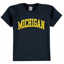Michigan Wolverines New Agenda Youth Arch T-Shirt - Navy