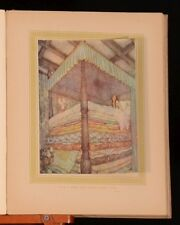 c1915 Picture Book By Edmund Dulac For The French Red Cross With Colour Plates