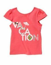 NWT Gymboree Girls Palm Beach Paradise Vacation Tee Size 4 & 5