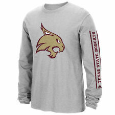 Texas State Bobcats adidas Play Long Sleeve T-Shirt - Gray - College