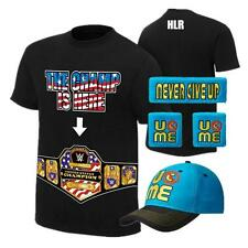 John Cena Champ Is Here Kids Boys Costume T-shirt Hat Wristbands