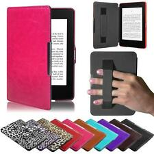 New Smart Ultra Magnetic Case Cover For Amazon Kindle Sleep/Wake Keyboard Folios