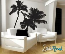 Vinyl Wall Decal Sticker Tropical Palm Trees 801s