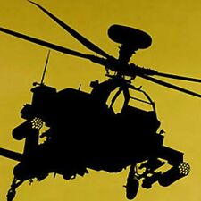 Vinyl Wall Art Decal Sticker Military Apache Helicopter
