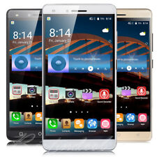 "Unlocked Luxury 5.5"" Mobile Phone Android 4GB 3G Quad Core Dual SIM Smartphone"