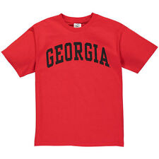 Georgia Bulldogs New Agenda Youth Arch T-Shirt - Red - College