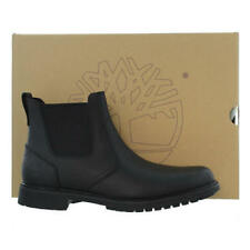 Timberland Earth Keeper Stormbuck Mens Waterproof Leather Chelsea Boots Black