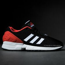 ADIDAS ZX FLUX EQUIPMENT EQT BLACK WHITE RED MEN'S US SIZES NMD BOOST ULTRA