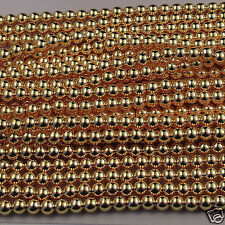 Japanese Intense Gold Faux Pearls Beads Strands/ Loose 2,3.5,5,8,10,12mm