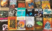 Science Fiction Choose From 18 Hardcover Dustjacket Books for Your home Library