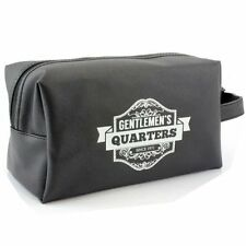 Gentlemen's Quarters Black Men's Washbag Toiletry Bag