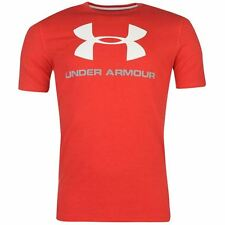 Under Armour Mens Sportstyle Logo T Shirt Graphic Short Sleeve Crew Neck Tee