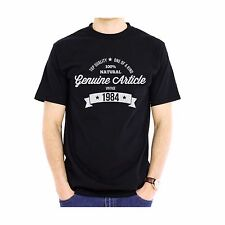 NEW - GENUINE ARTICLE 1984 - Men's Cotton T-Shirt - Birthday Gift Present Xmas