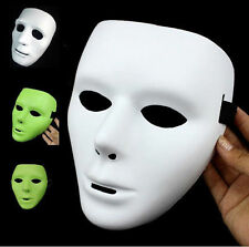 Mysterious Halloween Masquerade DIY Mime Mask Ball Party Costume Masks 7Colors