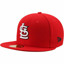 St. Louis Cardinals New Era State Clip 59FIFTY Fitted Hat - Red - MLB