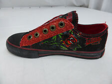 "BRAND NEW ED HARDY KIDS SHOES ""LOVE ETERNAL"" US SIZE 1 , 2 , 3 , 4"