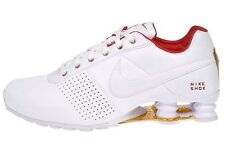 Nike Shox Deliver Womens Size Running Shoes White Univeristy Red 317549 118