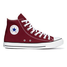 Converse Chuck Taylor All Star Trainers Men's Women's High Maroon Chucks Shoes