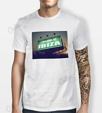 Welcome To Ibiza Tshirt Mens Womens Shirt Tee Swag Fun Hipster DJ Party Festival