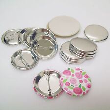 "1-1/2"" (1.50 inch) Complete Tecre Pin Back Button Parts - Various Quantities"