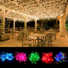 30ft 100 LED String Fairy Lights Bulbs Party Wedding Xmas Tree Decor Waterproof