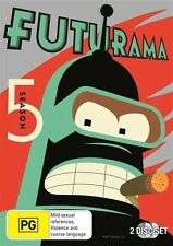 FUTURAMA Season 5 : NEW DVD