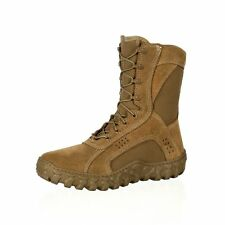 """Rocky Tactical Boots Mens 8"""" Compliant S2V Coyote Brown RKC050"""