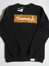 Low Life Jewels Black Crew Sweater DIAMOND SUPPLY Co Company S Small Crewneck