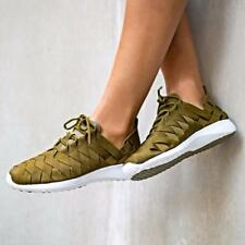 NIKE WOMENS WOVEN OLIVE SHOES SIZE 5 6 7 8 9 HUARACHE TRAINERS MAX AIR