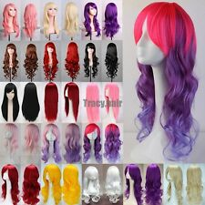 Long Curly Wigs Ladies Costume Cosplay Wig Fancy Dress Full Wig Halloween SGY6A