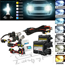 55W Xenon HID Conversion Kit  OR Bulbs Headlight H1 H3 H4  H7 4300k 6000k 8000k